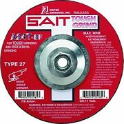 United Abrasives- Sait 20285 Type 27 Grinding Wheel A24t 7-inch By 1/4-inch B...