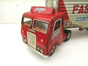 1950s Vintage Fast Freight Semi Truck Toy Continental Express Loose