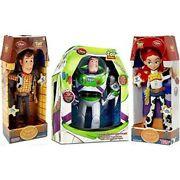 Toy Story Woody, Buzz Lightyear, Jessie Cowgirl Talking Action Figure Dolls By D