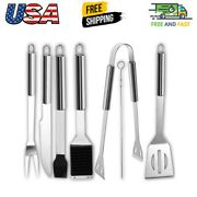 20pcs Bbq Grill Accessories Tools Set Stainless Steel Grilling Barbecue Case New