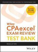 Wiley Cpaexcel Exam Review 2021 Test Bank + 1-year Access Card Regulation ...
