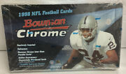 1998 Bowman Chrome Nfl Factory Sealed Hobby Box/ Manning,moss Rc