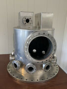 Uhv Vacuum Chamber Bell Jar With In-built Ion Pumps