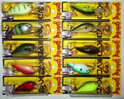 Lot Of 10 New And Different Strike King Kvd Series Crankbait Fishing Lures 3