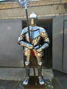 Knight With Etching Example Of My Etching Full Body Armor Costume