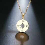 Stainless Steel Necklace For Women Loverand039s Gold And Silver Color Tiny Round Comp