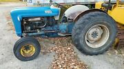 Vintage 1964 Ford Tractor Model 4000 Runs Great