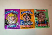 ☆ 3 Garbage Pail Kids Series 7 9 10 Collection Pack Wax Sealed Clean ☆