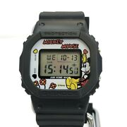 Casio G-shock Menand039s Watch Dw5600vt Mickey Mouse Ships