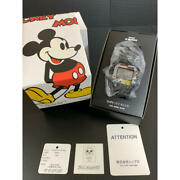 Casio G-shock Menand039s Watch Ships Jet Blue Jam Home Made Mickey Mouse Super Rare