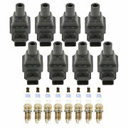 Bosch 8 Ignition Coils And 8 Platinum Spark Plugs 0.043 Kit For W140 S420 4.2l V8