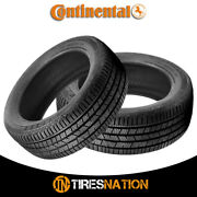 2 New Continental Crosscontact Lx Sport 285/45/20 112h Touring All-season Tire