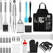 Grill Tool Kit 39 Pcs Griddle Accesories Set Outdoor Bbq Barbecue Tool