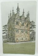 Richard Beer Rushton Triangular Lodge Hand Signed Limited Edition Lithograph