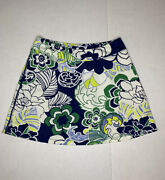 Title Nine Dream Floral Tennis Skirt / Built In Shorts / Skort Womenandrsquos Small S