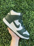 Size 11 - Nike Dunk High Sp Pro Green Pre Owned
