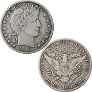 1912 D Barber Half Dollar Vf Very Fine 90 Silver 50c Us Type Coin Collectible