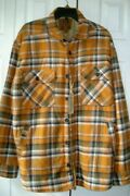 Menand039s Flannel Shirt Jacket Size Large Autumn Woods Outdoor Life