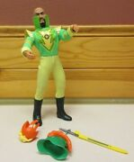 1976 Mego Ming The Merciless Flash Gordon - All Original Parts And Accessories