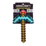 2 In 1 Minecraft Games Transforming Diamond Sword And Pickaxe Hoe Toys Kid Gift/