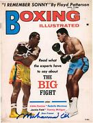 Muhammad Ali Autographed Boxing Illustrated Magazine From April 1971 Jsa