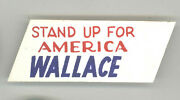 George Wallace President Political Pin Button Pinback Alabama Governor Stand Up