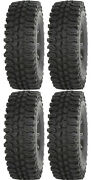Four 4 Frontline Bdc Atv Tires Set 2 Front 28x10-14 And 2 Rear 28x10-14