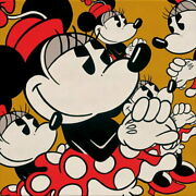 Disney Paintings Minnie Mouse/menie Minies Limited To 95 Copies Canvas Zikre
