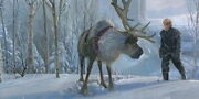 Disney Paintings Frozen/ Epic Journey Limited To 95 Copies Canvas Zikre Picture