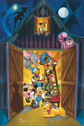 Disney Paintings Disney/source Of Imagination Limited To 195 Copies Canvas Zikre