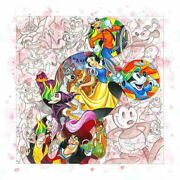 Disney Paintings Disney/colorful Characters Limited To 195 Copies Canvas Zikre