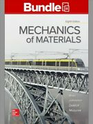 Mechanics Of Materials + Connect Access Card, Paperback By Beer, Ferdinand P....