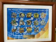 Pokemon Pikachu Pin Badge Collection Framed 1000 Limited Super Rare