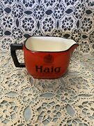 Vintage Haig Creamer From Great Britain From 1970s Scotch Whisky Advertising