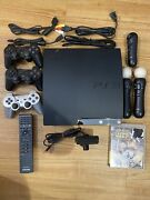 Ps3 Console With Games And Controllers. Used