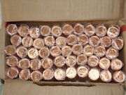 2011 Canada 50 Rolls Magnetic 1 Cent 2500 Total Coins Rcm