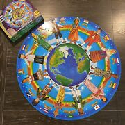 Melissa And Doug Children Of The World Circular Floor Puzzle 48 Pieces Ages 4+