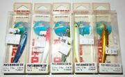 Lot 5 New And Different Yo-zuri Pin's Minnow Sw Sinking 2-3/4 Fishing Lures F266