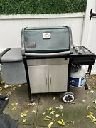 Bbq Grill Weber Genesis Silver Propane Gas - Check Below For Included Extras