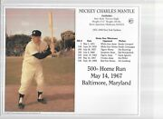 Mickey Mantle Group Of 5 Photos-version 1