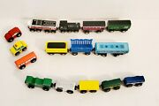 Lot Of Melissa And Doug Train Set Wood Engine And Cars Magnet Free Shipping