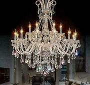 Modern Crystal Chandeliers For Diming Bedrooms Luxury Party Xmas Lighting Lamp