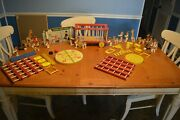 Fisher Price Circus Wagon 900 Complete No Missing Parts + Tons Of Extras