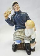 Royal Doulton Figure Song Of The Sea Hn2729 Made In England
