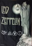 """Led Zeppelin Stairway To Heaven Tapestry Cloth Poster Flag Wall Banner 42""""x 29"""""""