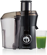 """Hamilton Beach Juicer Machine, Big Mouth Large 3"""" Feedchute, Easy To Clean, Cent"""