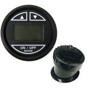 Faria Euro Black 2 Depth Sounder W/in-hull Transducer Imperial And Metric Values