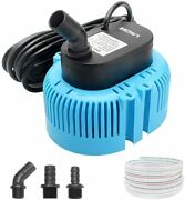 Pool Cover Pump Above Ground - Submersible Sump Pump, Swimming Water