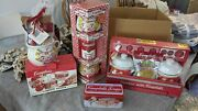 Campbell Soup Collectibles Vintage Mugs, Tin, Bowls, Covered Bowls