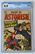 Tales To Astonish 35 Cgc 4.0 Ow/w 1st Antman In Costume